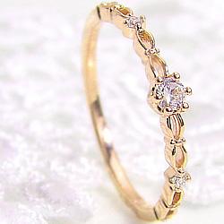 指輪 ピンキーリング 10金 お気にいる ホワイトゴールドK10 ピンクゴールドK10 イエローゴールドK10 1号~15号 天然ダイヤモンド 送料無料 ダイヤモドリング レディース 通販 ギフト ショップ クリスマス K10 ring diamond 返品交換不可 ミルククラウン 1号~ プレゼント ゴールド