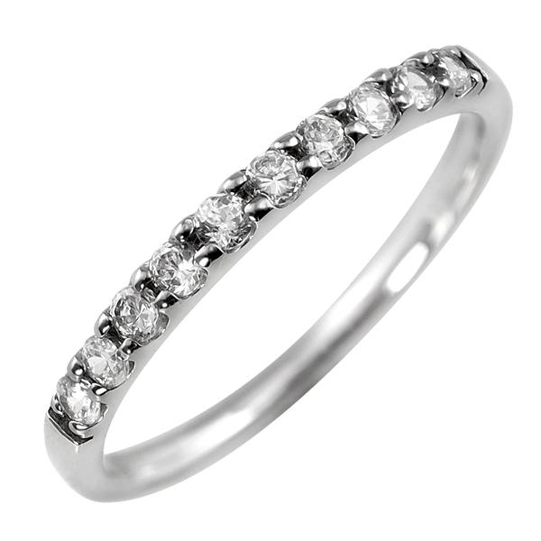 ダイヤモンドリング プラチナ 指輪 レディース Pt900 ダイヤモンド エタニティリング エタニティ ダイヤ 0.2ct 天然ダイヤ 婚約指輪 ブライダル ホワイトデー プレゼント 結婚記念日