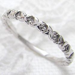 バタフライリング エタニティリング 蝶 プラチナ 指輪 Pt900 ピンキーリング ファランジリング ミディリング 究極指輪 ギフト