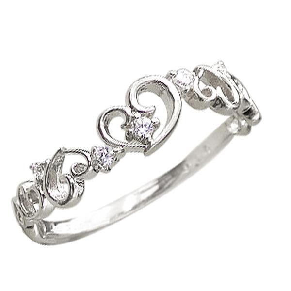 ハートリング ピンキーリング ダイヤモンドリング プラチナ ハートモチーフ ピンキーリング ファランジリング ミディリング 指輪 ダイヤモンド Pt900 通販 ギフト 新生活 在宅 ファッション
