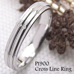 プラチナ クロスリング Pt900 十字架 指輪 ピンキーリング プレゼント 贈り物 レディースring ギフト ホワイトデー