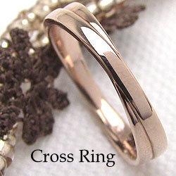 ピンキーリング ピンクゴールドK18 K18PG 誕生日 プレゼント リング 指輪 文字入れ 刻印 可能 小指 ギフト