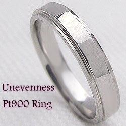 プラチナ900リング Pt900 ジュエリー アクセサリーショップ ピンキーリング3.7mm幅 オシャレリング 指輪 ブライダル ギフト 新生活 在宅 ファッション