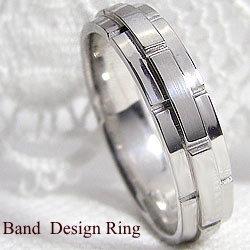 バンドデザインリング ホワイトゴールドK18 結婚式 プレゼント オシャレ指輪 アクセサリー ジュエリーショップ レディースリング ギフト クリスマス プレゼント xmas