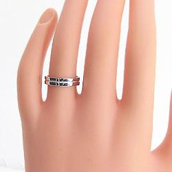 ホワイトゴールドK10 指輪 クロスリング K10WG リング 十字架 ジュエリー プロポーズ レディースリング 誕生日 プレゼント 結婚記念日 ギフト 新生活 在宅 ファッションlJcFTK13