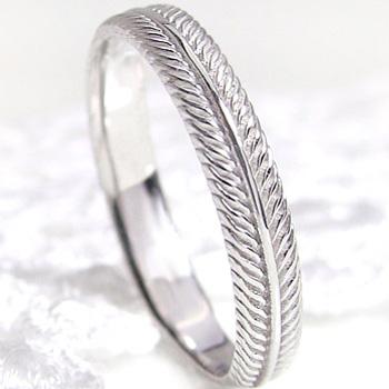指輪 プラチナ900 フェザーリング 羽デザイン 女性用 誕生日プレゼント レディースリング ピンキーリング 通販ショップ ギフト 新生活 在宅 ファッション