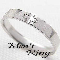 プラチナメンズクロスリング Pt900 十字架指輪 ギフト 新生活 在宅 ファッション