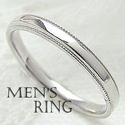 プラチナ900 メンズリング Pt900 アンティーク オシャレ ミル打ち デザイン men's ring メンズ アクセサリー地金 ギフト 新生活 在宅 ファッション