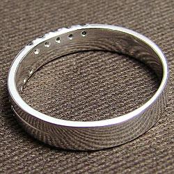ブラックダイヤモンドメンズリング 指輪 プラチナ900 クロスデザイン4mm幅 Pt900アクセサリー 誕生日プレゼント 十字架tsQxdrCh