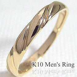 メンズリング 指輪 K10 男性用 アクセサリー 誕生日 プレゼント サプライズ 工房 工房 工房 通販 直送 ジュエリー 記念日 贈り物 ギフト クリスマス プレゼント xmas c5d