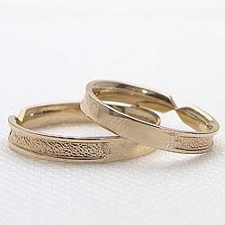 結婚指輪 ゴールド デザインリング ペアリング イエローゴールドK10 マリッジリング 10金 2本セット ペア 文字入れ 刻印 可能 婚約 結婚式 ブライダル ウエディング ギフト 新生活 在宅 ファッション3uFK1cTlJ