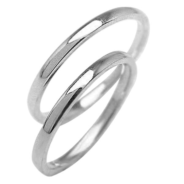 結婚指輪 ペアリング プラチナ 結婚指輪 シンプル ストレート 平甲丸 1.5ミリ幅 Pt900 マリッジリング 2本セット ペア 文字入れ 刻印 可能 婚約 結婚式 ブライダル ウエディング 結婚指輪 結婚指輪 バレンタインデー ホワイトデー