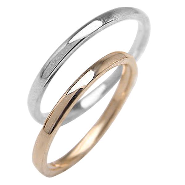 結婚指輪 結婚指輪 ゴールド ゴールド ゴールド ペアリング シンプル ストレートリング ピンクゴールドK10 ホワイトゴールドK10 マリッジリング 10金 2本セット ペア 文字入れ 刻印 可能 婚約 結婚式 ブライダル ウエディング ギフト クリスマス プレゼント xmas b71