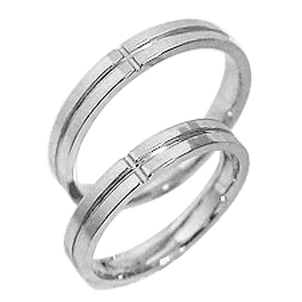 結婚指輪 プラチナ クロス ペアリング Pt900 マリッジリング 十字架 2本セット ペア 文字入れ 刻印 可能 婚約 結婚式 ブライダル ウエディング ギフト 新生活 在宅 ファッション
