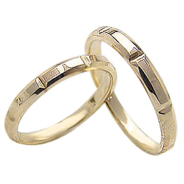 結婚指輪 ゴールド ペアリング オリジナルデザイン イエローゴールド10 マリッジリング 10金 2本セット ペア 文字入れ 刻印 可能 婚約 結婚式 ブライダル ウエディング ギフト 新生活 在宅 ファッション 自粛