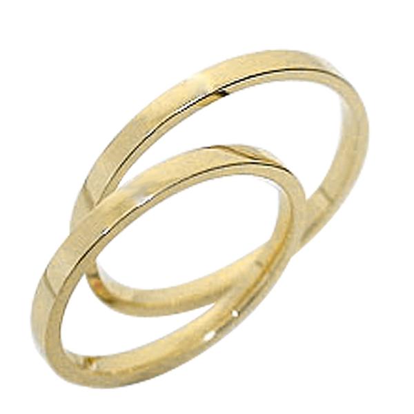 結婚指輪 ストレート ペアリング イエローゴールドK10 マリッジリング 10金 2本セット 文字入れ 刻印 可能 婚約 結婚式 ブライダル ウエディング ギフト 新生活 在宅 ファッション 自粛
