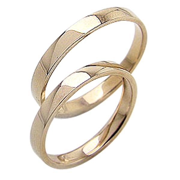 結婚指輪 平打ち 2.5mm幅 ペアリング イエローゴールドK18 マリッジリング 18金 2本セット 文字入れ 刻印 可能 婚約 結婚式 ブライダル ウエディング ギフト 新生活 在宅 ファッション