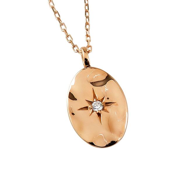 ネックレス レディース ネックレス 一粒 ダイヤモンド 18金 K18 ゴールド オーバル形 小判型 ペンダント アズキチェーン 40cm 天然ダイヤ 首飾り クリスマス プレゼント xmas