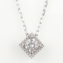 ネックレス レディース プラチナ 一粒ダイヤネックレス ペンダント Pt900 Pt850 diamond necklace 通販ショップ ホワイトデー プレゼント fb, ambiance 8ed59455