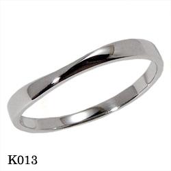 【割引クーポンが使える】 結婚指輪 プラチナ900 マリッジリング エトワ K013 【ポイント2倍 刻印無料 送料無料】