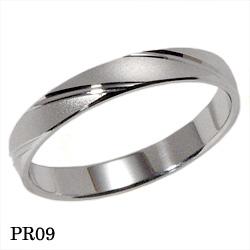【割引クーポンが使える】 結婚指輪 プラチナ900 マリッジリング エトワ PR09 【ポイント2倍 刻印無料 送料無料】