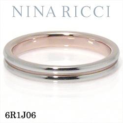 結婚指輪 プラチナ900 K18ピンクゴールド マリッジリング ニナリッチ 6R1J06 【ポイント2倍 刻印無料 送料無料】