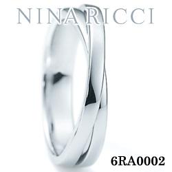 結婚指輪 プラチナ900 マリッジリング ニナリッチ 6RA0002 【ポイント2倍 刻印無料 送料無料】