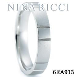 結婚指輪 プラチナ900 マリッジリング ニナリッチ 6RA913 【ポイント2倍 刻印無料 送料無料】