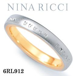結婚指輪 プラチナ900 K18イエローゴールド マリッジリング ニナリッチ 6RL912  プラチナ結婚指輪 イエローゴールド結婚指輪 ペア結婚指輪 刻印無料結婚指輪 送料無料結婚指輪 シンプル結婚指輪 ブライダル結婚指輪