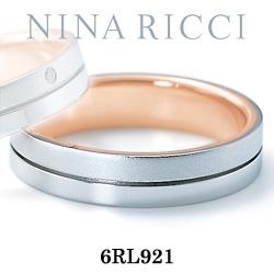 結婚指輪 プラチナ900 K18ピンクゴールド マリッジリング ニナリッチ 6RL921  プラチナ結婚指輪 ピンクゴールド結婚指輪 ペア結婚指輪 刻印無料結婚指輪 送料無料結婚指輪 シンプル結婚指輪 ブライダル結婚指輪