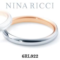 結婚指輪 プラチナ900 K18ピンクゴールド マリッジリング ニナリッチ 6RL922  プラチナ結婚指輪 ピンクゴールド結婚指輪 ペア結婚指輪 刻印無料結婚指輪 送料無料結婚指輪 シンプル結婚指輪 ブライダル結婚指輪