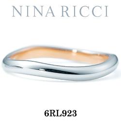 結婚指輪 プラチナ900 K18ピンクゴールド マリッジリング ニナリッチ 6RL923  プラチナ結婚指輪 ピンクゴールド結婚指輪 ペア結婚指輪 刻印無料結婚指輪 送料無料結婚指輪 シンプル結婚指輪 ブライダル結婚指輪