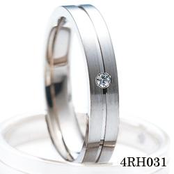 【割引クーポンが使える】 結婚指輪 K18ホワイトゴールド サファイア ダイヤモンド マリッジリング 4RH031 ロマンティックブルー  ホワイトゴールド結婚指輪 ペア結婚指輪 刻印無料結婚指輪 送料無料結婚指輪 シンプル結婚指輪 ブライダル結婚指輪