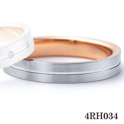【割引クーポンが使える】 結婚指輪 K18ホワイトゴールド K18ピンクゴールド サファイア マリッジリング 4RH034 ロマンティックブルー  ホワイトゴールド結婚指輪 ピンクゴールド結婚指輪 ペア結婚指輪 刻印無料結婚指輪 送料無料結婚指輪
