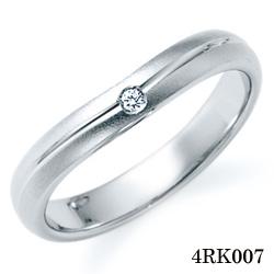 【割引クーポンが使える】 結婚指輪 プラチナ900 サファイア マリッジリング 4RK007 ロマンティックブルー  プラチナ結婚指輪 ペア結婚指輪 刻印無料結婚指輪 送料無料結婚指輪 シンプル結婚指輪 ブライダル結婚指輪