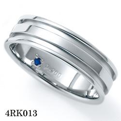 【割引クーポンが使える】 結婚指輪 プラチナ900 サファイア マリッジリング 4RK013 ロマンティックブルー  プラチナ結婚指輪 ペア結婚指輪 刻印無料結婚指輪 送料無料結婚指輪 シンプル結婚指輪 ブライダル結婚指輪