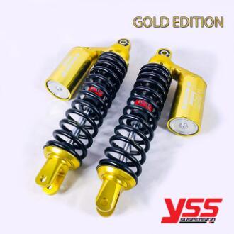 <title>ゴールドシリーズ登場 YSS GOLD 情熱セール SERIES G-PLUS リアサスペンション 305mm AEROX エアロックス タンク別体式</title>