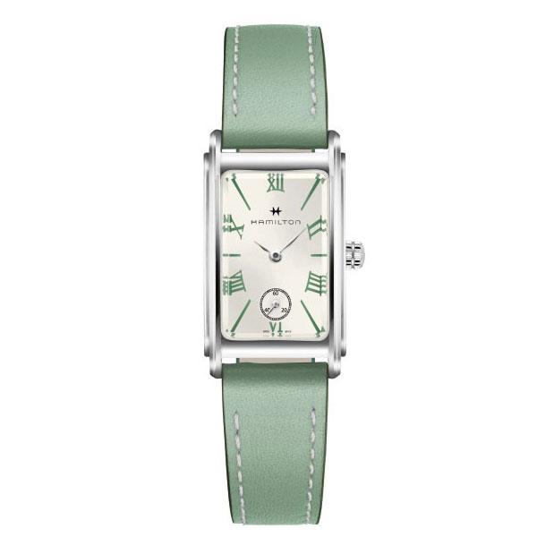 ハミルトンは安心の正規販売店で HAMILTON アードモア スモール ARDMORE SMALL グリーン 日本正規品 H11221014