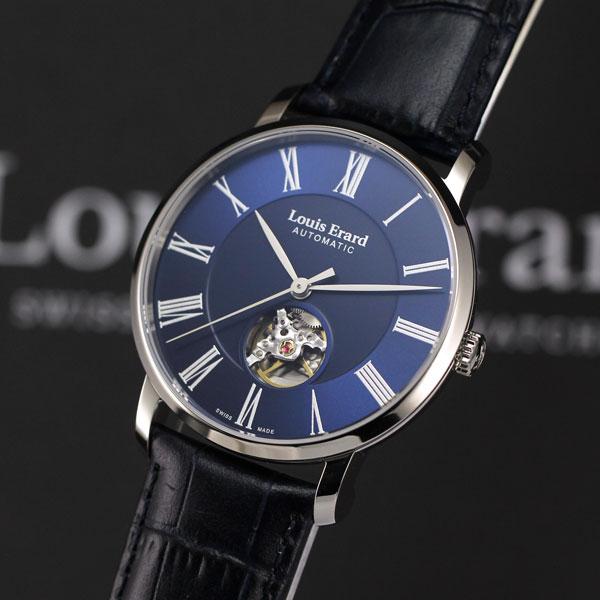 ルイエラールは安心の正規販売店で Louis Erard エクセレンス オープンウィンドウ 国内限定25本 ブルー EXCELLENCE 正規輸入品 LE62233AA15BDC37