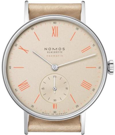 ノモスは安心の正規販売店で NOMOS ラドウィッグ ネオマティック LUDWIG neomatik シャンペイナー 日本正規品 LD130012CH2