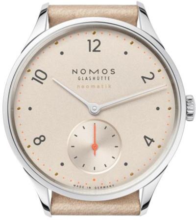 ノモスは安心の正規販売店で NOMOS ミニマティック minimatik シャンペイナー ネオマティック neomatik 日本正規品 MM130011CH2