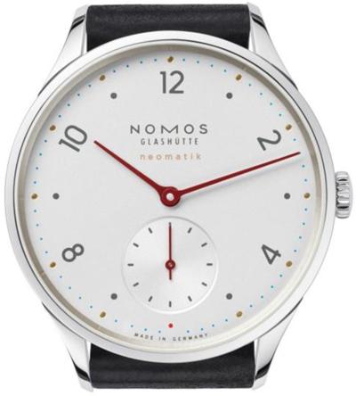 ノモスは安心の正規販売店で NOMOS ミニマティック minimatik ホワイト ネオマティック neomatik 日本正規品 MM130011W2