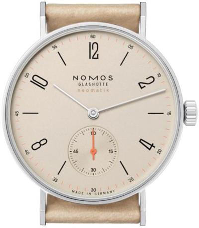 ノモスは安心の正規販売店で NOMOS タンジェント ネオマティック 35mm TANGENTE neomatik シャンペイナー 日本正規品 TN130011CH2