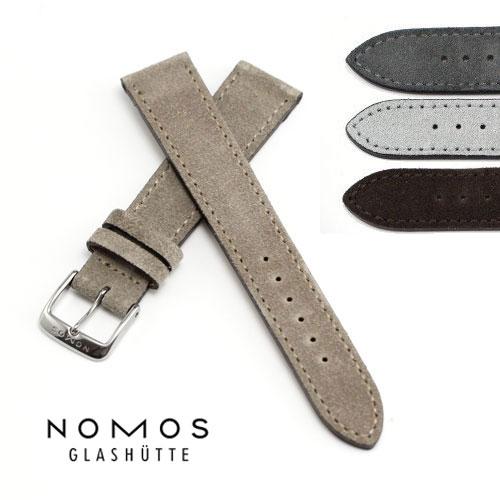 ノモス NOMOS 純正スウェードベルト 純正尾錠つき 有名な 17mm 19mm 18mm 20mm 即納最大半額 正規輸入品