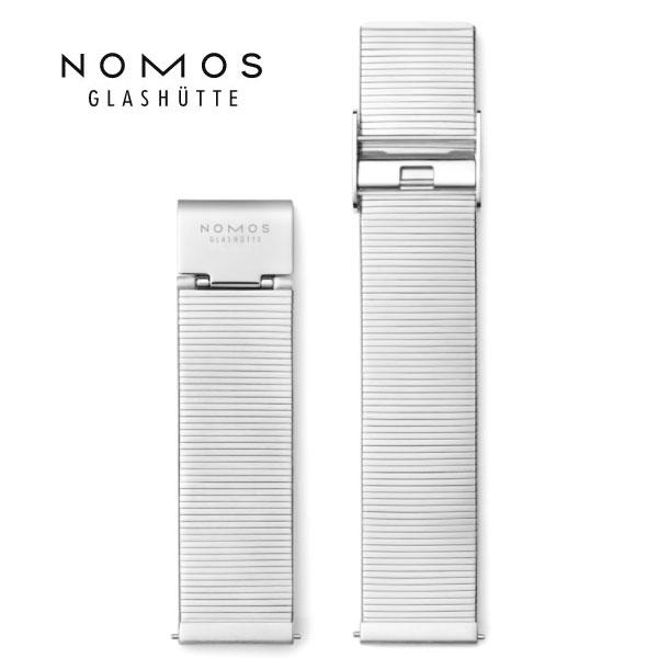 業界No.1 ノモス 売り出し NOMOS 純正メタルブレスレット 18mm 20mm 正規輸入品 19mmm