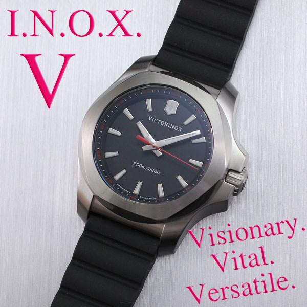 ビクトリノックスは安心の正規販売店で  ビクトリノックススイスアーミー VICTORINOX INOX V イノックスV 37mm ブラック 正規輸入品 241768