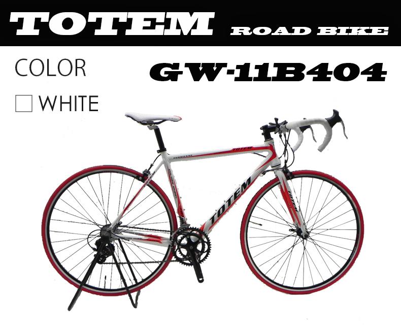 ロードバイク スポーツバイク 自転車 超軽量アルミフレーム 700C ダブルクイックハブ シマノ SHIMANO 最安値 TOTEM トーテム 通勤通学 26インチ 11B404