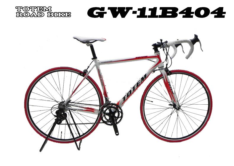 ロードバイク 初心者 スポーツバイク 自転車 超軽量アルミフレーム 700C ダブルクイックハブ シマノ SHIMANO 最安値 TOTEM トーテム 通勤通学 26インチ 11B404