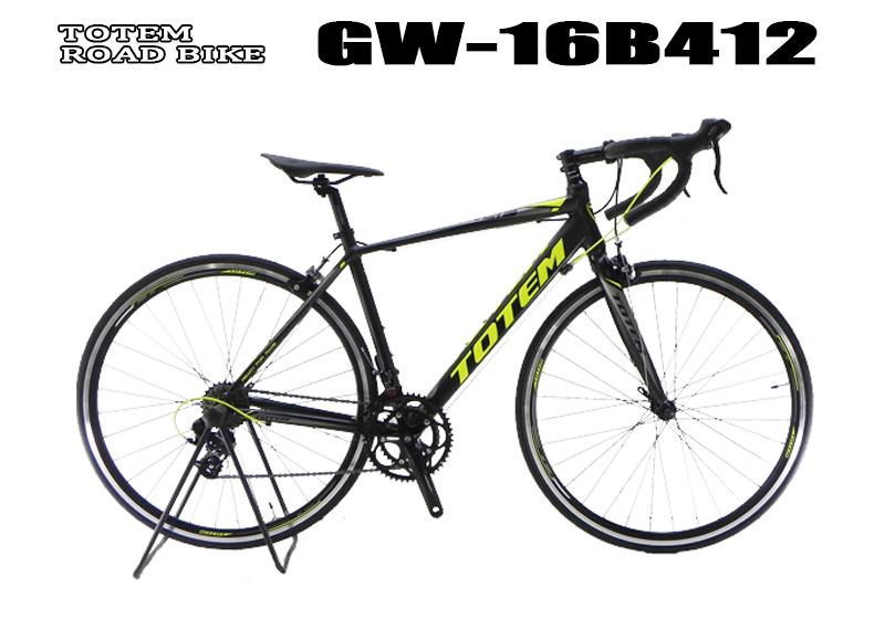 新品本物 ロードバイク 16B412 初心者 自転車 シマノ14段変速 前後クイックハブ 軽量アルミフレーム ロードバイク 16B412 シマノ14段変速 カラー(グリーン/ブラック)、フレームサイズ(480mm/500mm)選択可, ウッディマート:302f1a3c --- nba23.xyz
