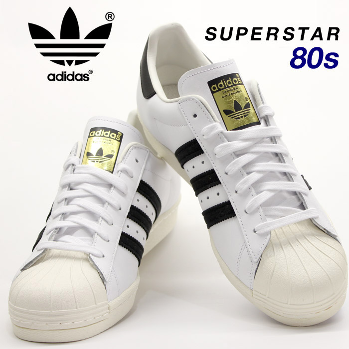 adidas Originals / adidas originals Superstar 80's Deluxe Vintage 80 s vintage Deluxe sneakers ladies men's superstar adidas Superstar adidas ...